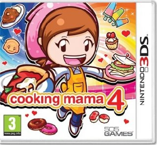 Диск Cooking Mama 4 (Б/У) [3DS]