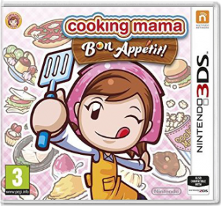 Диск Cooking Mama 5: Bon Appetit! [3DS]