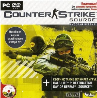 Диск Counter Strike: Source (PC)