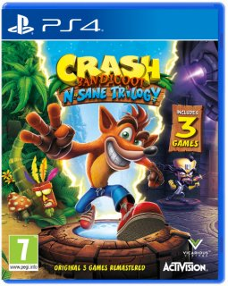 Диск Crash Bandicoot N. Sane Trilogy [PS4]