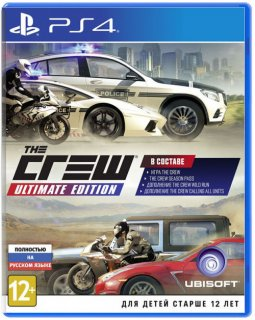 Диск Crew - Ultimate Edition [PS4]