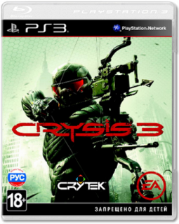 Диск Crysis 3 [PS3]
