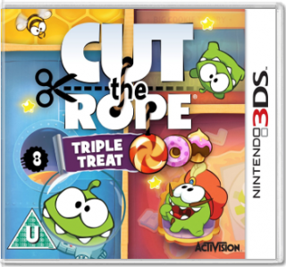 Диск Cut The Rope [3DS]