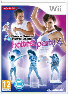 Диск Dance Dance Revolution - Hottest Party 4 [Wii]