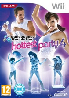 Диск DanceDanceRevolution: Hottest Party 4 + Dance Mat [Wii]