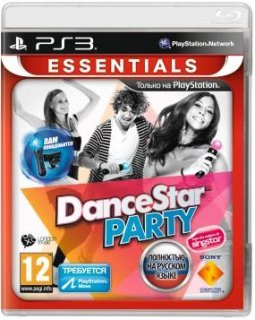Диск DanceStar Party (Б/У) [PS3, PS Move]