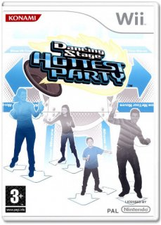 Диск Dancing Stage Hottest Party + Dance Mat [Wii]