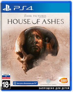 Диск Dark Pictures: House of Ashes [PS4]