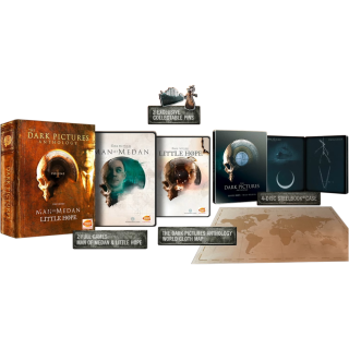 Диск Dark Pictures: Man of Medan & Little Hope - Limited Edition [PS4]