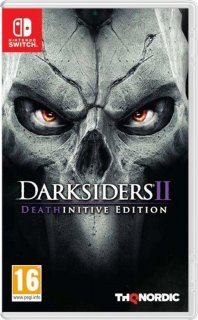 Диск Darksiders II (2) - Deathinitive Edition [NSwitch]
