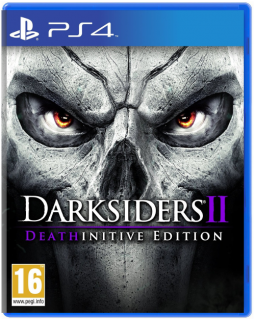 Диск Darksiders II (2) - Deathinitive Edition (Б/У) [PS4]