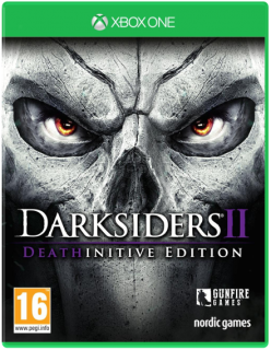 Диск Darksiders II (2) - Deathinitive Edition [Xbox One]