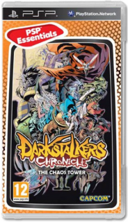 Диск Darkstalkers Chronicle: The Chaos Tower [PSP]