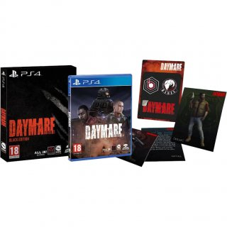 Диск Daymare: 1998 - Black Edition [PS4]