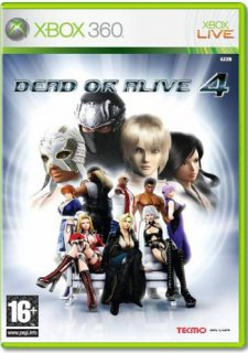Диск Dead or Alive 4 (Б/У) [X360]