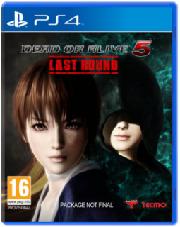 Диск Dead or Alive 5 Last Round [PS4]