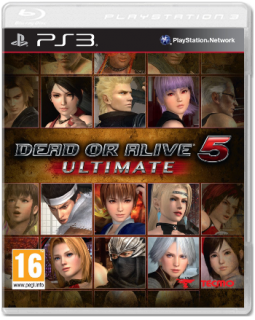 Диск Dead or Alive 5 - Ultimate [PS3]