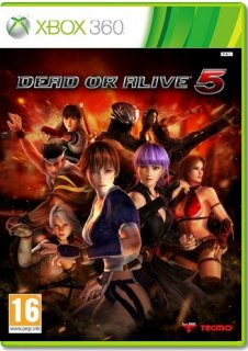Диск Dead or Alive 5 [X360]