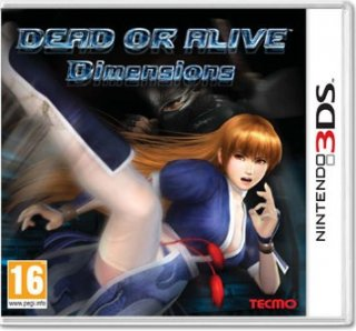 Диск Dead or Alive: Dimensions (Б/У) [3DS]