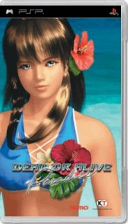 Диск Dead or Alive: Paradise [PSP]