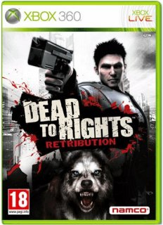 Диск Dead to Rights: Retribution (Б/У) [X360]