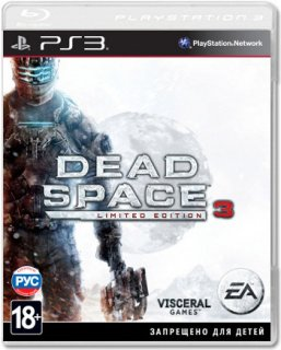 Диск Dead Space 3 Limited Edition (USA) [PS3]