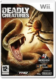 Диск Deadly Creatures [Wii]