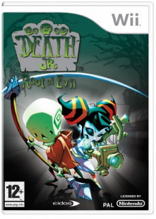 Диск Death Jr Root of Evil [Wii]