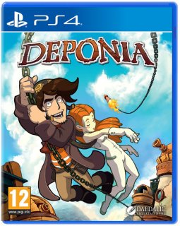 Диск Deponia [PS4]
