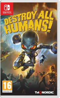 Диск Destroy All Humans! [NSwitch]