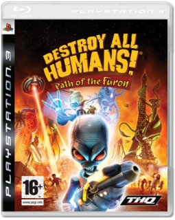 Диск Destroy All Humans! Path of the Furon (Б/У) [PS3]