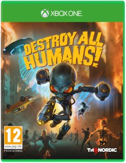 Диск Destroy All Humans! [Xbox One]