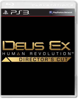 Диск Deus Ex: Human Revolution - Director's Cut (Б/У) [PS3] (англ. версия)