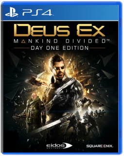 Диск Deus Ex Mankind Divided - Day One Edition [PS4]
