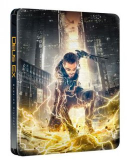 Диск Deus Ex Mankind Divided Steelbook Case (БЕЗ ИГРЫ)