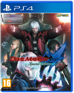 Диск Devil May Cry 4 (Б/У) [PS4]