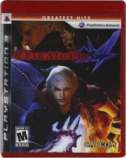 Диск Devil May Cry 4 (Б/У) (US) [PS3]