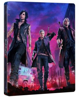 Диск Devil May Cry 5 - Deluxe Steelbook Edition [PS4]
