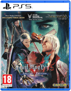 Диск Devil May Cry 5 - Special Edition [PS5]