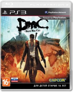 Диск Devil May Cry DMC (Б/У) [PS3] анг. версия