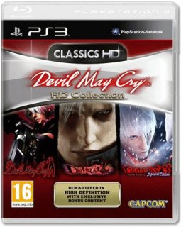 Диск Devil May Cry HD Collection (Б/У) [PS3]