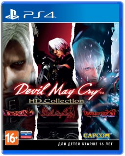 Диск Devil May Cry HD Collection [PS4]