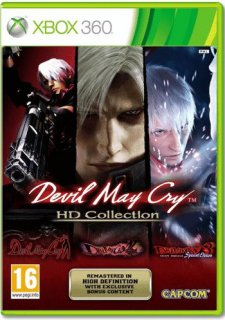 Диск Devil May Cry HD Collection (Б/У) [X360]