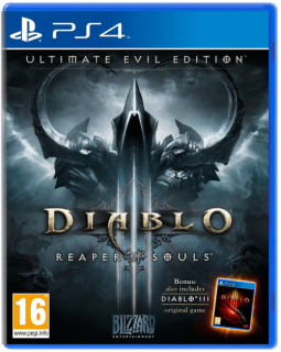 Диск Diablo III (3) Reaper of Souls. Ultimate Evil Edition (англ. яз.) [PS4]