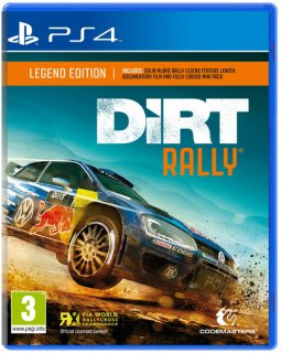 Диск Dirt Rally - Legend Edition (Б/У) [PS4]