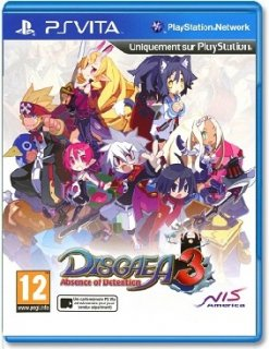 Диск Disgaea 3: Absence of Detention [PS Vita]