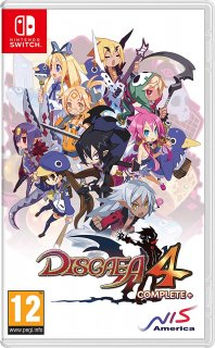 Диск Disgaea 4 Complete+ A Promise of Sardines Edition [NSwitch]