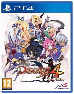Диск Disgaea 4 Complete+ A Promise of Sardines Edition [PS4]
