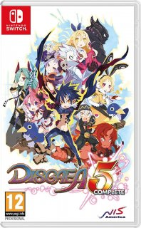 Диск Disgaea 5: Complete [NSwitch]