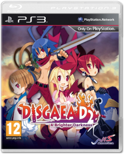 Диск Disgaea D2: A Brighter Darkness [PS3]